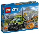 LEGO 60121 Vulkaan Onderzoekstruck