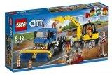 LEGO 60152 Veeg- en Graafmachine
