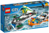 LEGO 60168 Zeilboot in Nood