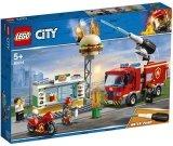 LEGO 60214 Brand bij het Hamburgerrestaurant