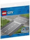 LEGO 60236 Grondplaten met Rechte en T-Splitsing