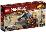LEGO 70667 Zwaardmotor van Kai en Sneeuwscooter van Zane