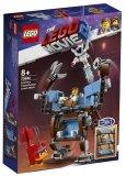 LEGO 70842 Emmet's Mecha met een Zitbank met Drie Verdiepingen