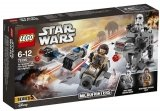 LEGO 75195 Ski Speeder vs First Order Walker Microfighters