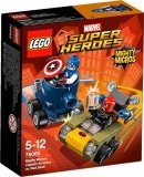LEGO 76065 Mighty Micros Captain America vs Red Skull
