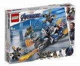 LEGO 76123 Captain America Aanval van de Outriders