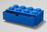LEGO Bureaulade 8 Noppen BLAUW