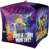 LEGO Cubez Foil Balloon The LEGO Movie