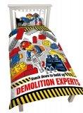 LEGO Dekbedovertrek City 2-in-1 Demolition