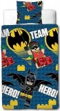 LEGO Dekbedovertrek Batman Team Hero
