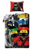 LEGO Dekbedovertrek Ninjago 2-in-1 Ninja By Night