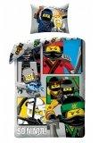 LEGO Dekbedovertrek Ninjago 2-in-1 So Ninja