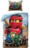 LEGO Dekbedovertrek Ninjago Kai 2-in-1