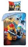 LEGO Dekbedovertrek City Brandweer en Politie