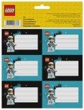 LEGO Etiketten Spaceman