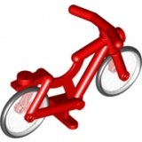 LEGO Fiets ROOD