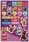 LEGO Friends Stickervel Dieren GRATIS