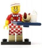 LEGO Hotdog Verkoper (COL17-6)