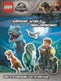 LEGO Jurrasic World Stickerboek - De Dino-Dreiging