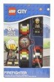 LEGO Kinderhorloge Minifiguur Link City Brandweerman