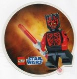LEGO Laptop Sticker 3D Darh Maul GRATIS