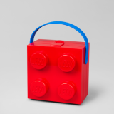 LEGO Lunchbox met Hendel ROOD