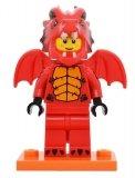 LEGO Man in Drakenpak (COL18-7)
