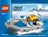 LEGO 30011 Politieboot (Polybag)