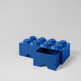 LEGO Steen Opberglade 8 BLAUW