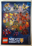LEGO Stickervel Nexo Knights