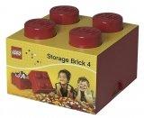 LEGO Storage Brick 4 ROOD