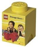 LEGO Storage Brick 1 GEEL