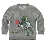 LEGO Sweater Boba Fett GRIJS (Simon 320 Maat 104)