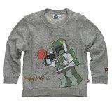 LEGO Sweater Boba Fett GRIJS (Simon 320 Maat 146)