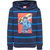 LEGO Sweater Nexo Knights DONKERBLAUW (Saxton 604 Maat 110)