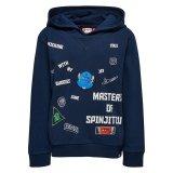 LEGO Sweater Ninjago DONKERBLAUW (Saxton 102 Maat 116)