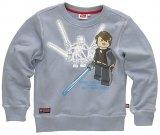 LEGO Sweatshirt Grevious VS Skywalker GRIJS (Silas 110 Maat 152)