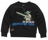 LEGO Sweatshirt Yoda ZWART (Silas 621 Maat 134)