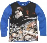 LEGO Sweatshirt Star Wars BLAUW (Tom 822 - Maat 104)