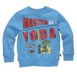 LEGO Sweatshirt Yoda BLAUW (Simon 120 Maat 110)