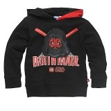 LEGO Sweatshirt Darth Maul ZWART (Simon 121 Maat 152)