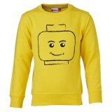 LEGO Sweatshirt GEEL (Skeet 608 Maat 134)