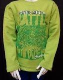 LEGO Power Miners Sweatshirt LIME GROEN (Sami 302 Maat 104)