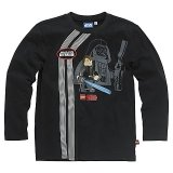 LEGO T-Shirt Anakin Skywalker ZWART (Terry 120 Maat 128)