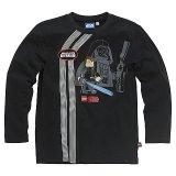 LEGO T-Shirt Anakin Skywalker ZWART (Terry 120 Maat 128)