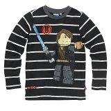 LEGO T-Shirt Anakin ZWART (Terry 123 Maat 146)