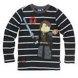 LEGO T-Shirt Anakin ZWART (Terry 123 Maat 152)