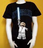LEGO Star Wars T-Shirt Anakin Skywalker ZWART (Tel 963 Maat 122)