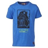 LEGO T-Shirt BLAUW (Timmy 750 Maat 122)