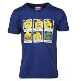 LEGO T-Shirt BLAUW (Tony 315 Maat 116)